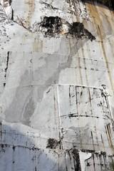 parete di marmo - dettaglio di cava