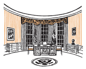 oval office of the white house