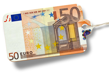 50 Euro etikett