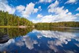 Fototapety Finland lake