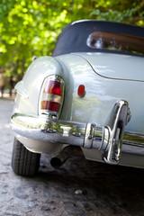 rear part of a retro car
