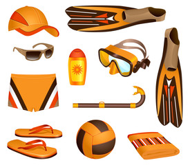 Beach accessories for man