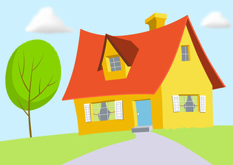Cartoon House