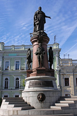 monument to Catherine II of Russia in Odessa