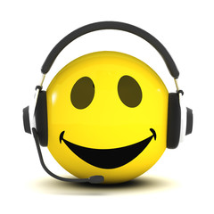 3d Smiley phone support