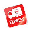 24h Express Sticker