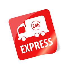 24h Express Sticker