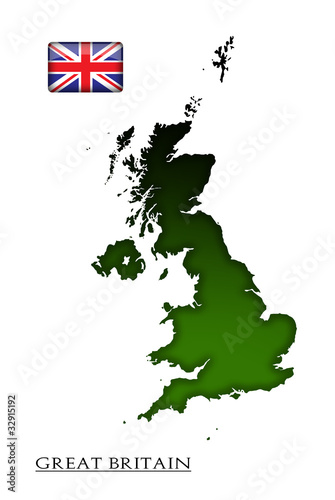 map of Great Britain