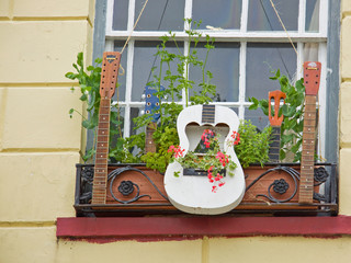 Guitar window box