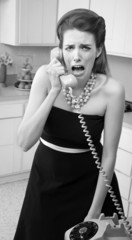 Crying Woman on Phone