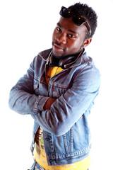 attitude - jeune homme noir