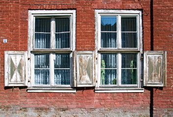 Two old outworn windows
