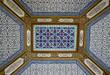 Arabesque ceiling of the Topkapi palace