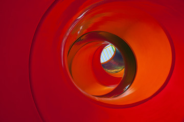 a color culls a tunnel slider
