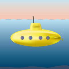 cute yellow submarine