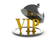 3d Silver service for VIP's only