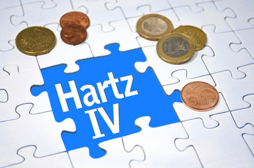 Puzzle mit Hartz IV