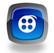 Film reel button