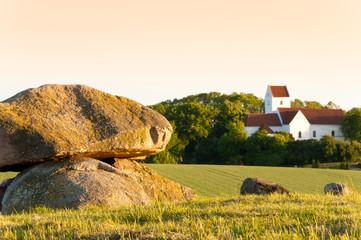 Großsteingrab bei Humble, Insel Langeland, Dänemark