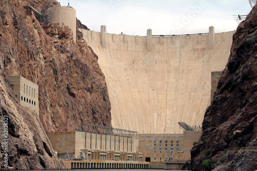 Close up ofHoover Dam - 32926327