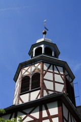 Wooden protestant church