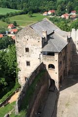 Bolkow Castle in Poland.