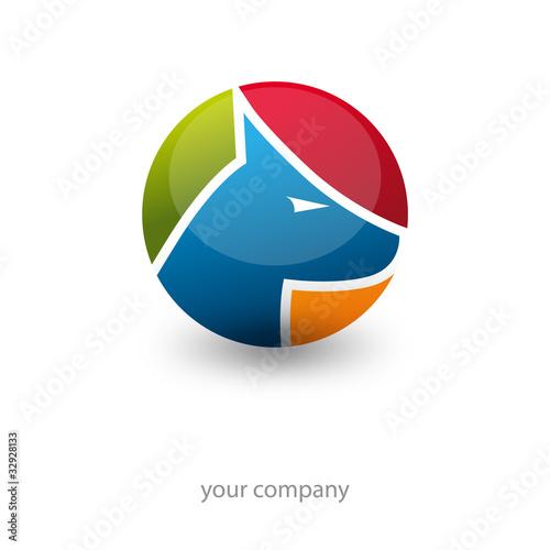 logo entreprise, logo chien, logo sécurité
