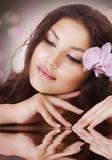 Fototapety Beautiful Spa Woman