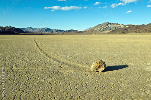 Racetrack Playa, Death Valley National Park,
