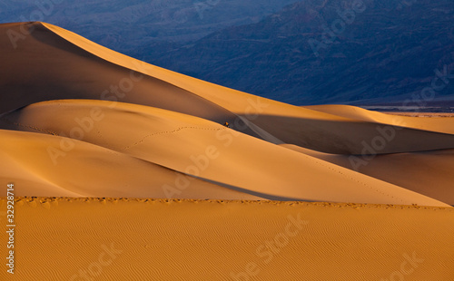 Mesquite Flat Sand Dunes at sunrise, Death Valley - 32928714