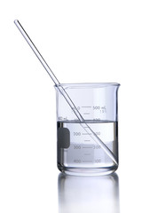 Laboratory Beaker and Stirrer