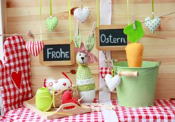 Frohe Ostern-Naturmort 2