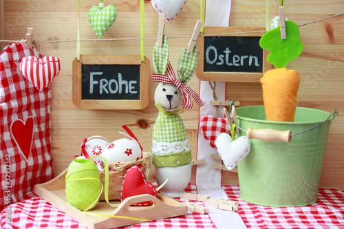 Frohe Ostern-Naturmort 1
