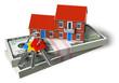 Real estate financial concept