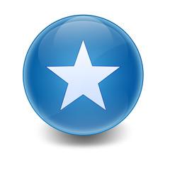 Esfera brillante simbolo estrella
