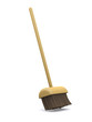 3d Broom sweeps clean
