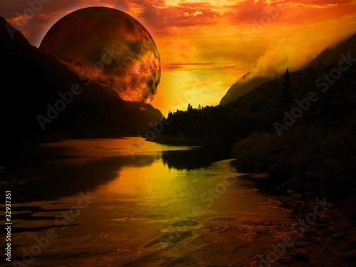 paysage fantastique - 32937351