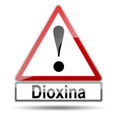 Señal peligro Dioxina