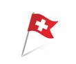 Schweiz Pin Flagge