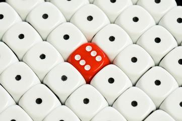 center dice