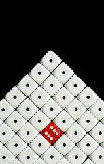 dice pyramid