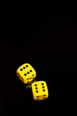 yellow dice