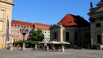 Gendarmenmarkt Berlin Footage fullhd 1080p 25fps pal Platz