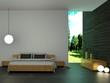 Wohndesign - Schlafzimmer mit Beleuchtung