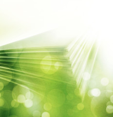 abstract green shiny background