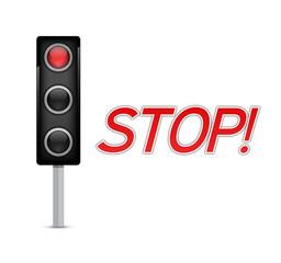 Stop Traffic Light