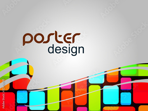 Abstract Poster Design Background hd Poster Design Background