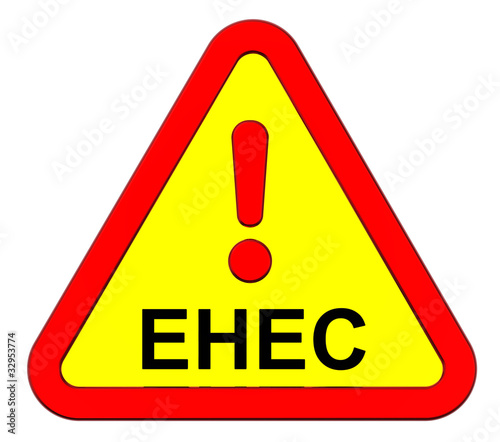 EHEC - warning sign