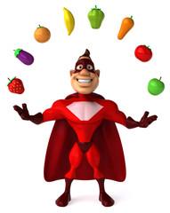 Superhéros et légumes