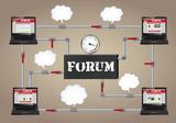 Conceptual illustration: Forum.